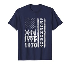 Brother Shirts - Legendary Since June 1970 Shirt 48th Birthday Gifts USA... - $19.95+