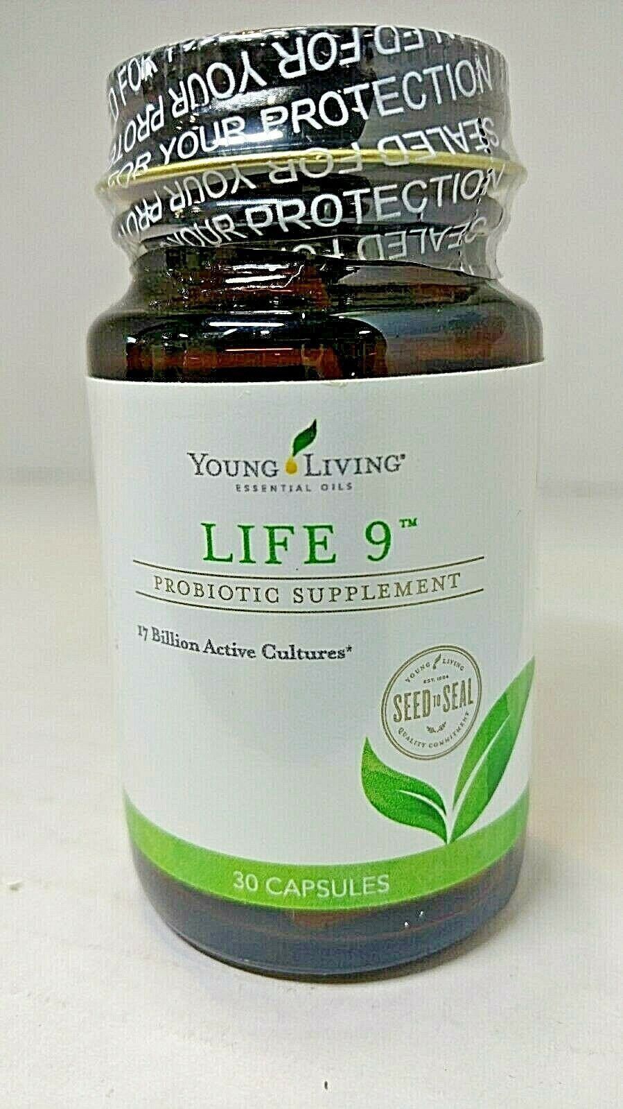 Primary image for Young Living Life 9 Probiotic Supplement 30 Capsules SEALED mfg 03/19