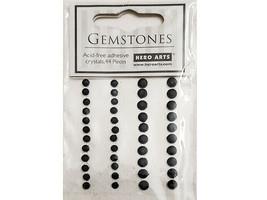 Hero Arts Self-Adhesive Gemstones, 44 Pieces, 2 Sizes
