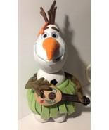 Disney Frozen In Hawaii Hula Skirt  Playing Guitar Plush - $7.92