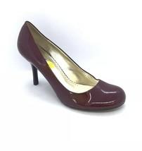 BCBG Paris Pumps Women Size 8.5 Heels Close Toe Dark Red Wine - $19.88