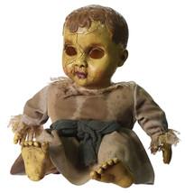 Creepy Gothic Horror HAUNTED BABY DOLL Spooky Halloween Decor Haunted Ho... - $44.52