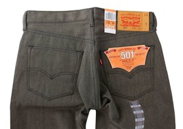 Levi's 501 Men's Original Fit Straight Leg Jeans Button Fly Brown 501-1890 image 1