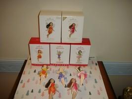 Hallmark 2012,15,16,17 & 2012 Repaint Fairy Messengers 8,11,12 & 13 Orna... - $87.99