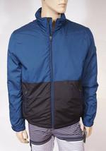 Michael Kors Men's Black Blue Colorblocked Insulated Jacket Coat M - $79.99
