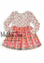 MATILDA JANE once upon time Ring of Flowers Pink Dress SIZE 10 EUC Long ... - $24.72