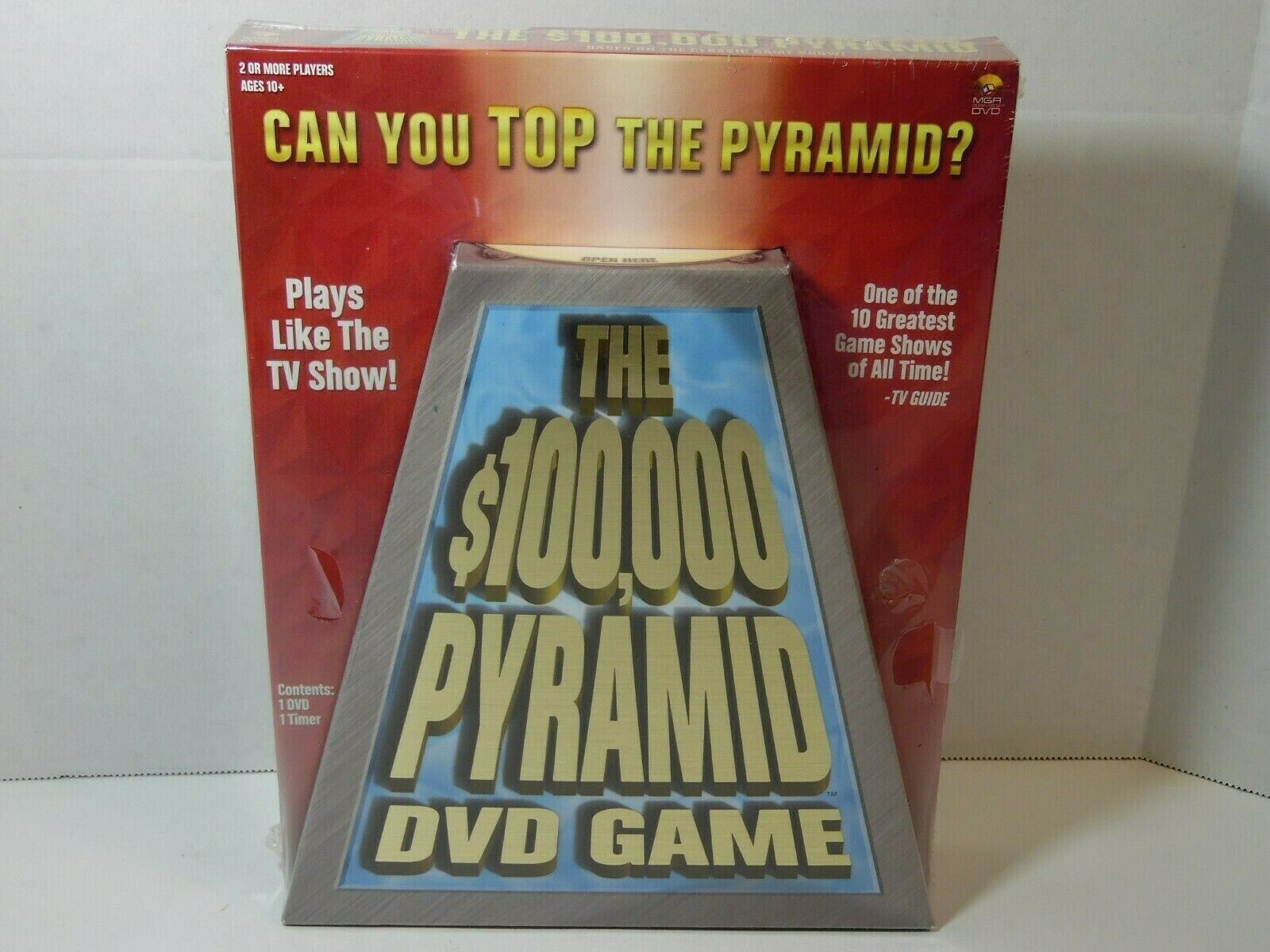 Primary image for The $100,000 PYRAMID DVD Game New Factory Sealed Classic Game