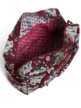 Vera Bradley Signature Cotton Iconic Weekender Bag, Bordeaux Blooms image 4