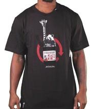 LRG Soulevé Recherche Groupe Hommes Noir Dispense Frais Girafe Panda T-Shirt Nwt