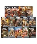 Attack on Titan BEFORE THE FALL Series MANGA Paperback Set of Books 1-14 - $121.99