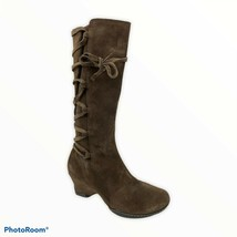Sofft Womens Tall Brown Suede Knee High Boots Shoes 8.5 Medium  - $26.73