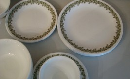 Corelle Dinnerware 24 Pc Set Crazy Daisy Spring Blossom Hook Cups Lunch ... - $44.54