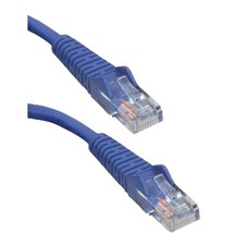 Tripp Lite N001-010-BL CAT-5E Snagless Molded Patch Cable (10ft) - $19.73