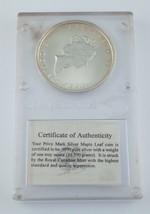 1998 1 oz Silber Kanadische Ahornblatt - Titanic Eingeweiht - $49.43