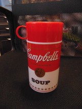 Vintage 1998 Campbell's Soup Thermos-11.3 Ozs-20 Years Old-Soup Can-Used Once - $12.00