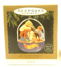 My First HOT WHEELS 1995 Hallmark Keepsake Ornament  Features Light & Mo... - $23.36