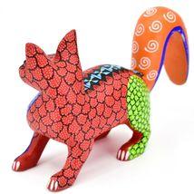 Handmade Alebrijes Oaxacan Copal Wood Carving Painted Folk Art Fox Figurine image 3