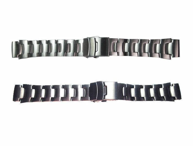 Primary image for 18mm Stainless Steel Link Watch Band fits Casio PRW-5000 PRW-5100