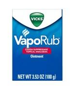 Vicks VapoRub Cough Suppressant Chest Rub Ointment, Original, 3.53 OZ..+ - $19.99