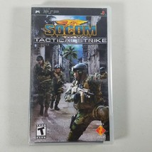 Socom US Navy Seals PSP Video Game Tactical Strike Black Label 2007 Rated T - $14.98