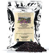 Starwest Botanicals Organic Dried Elder Berries, 1 Pound Bulk - $25.99