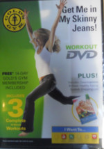 Gold's Gym Workout DVD Get me in My Skinny Jeans NIP - $9.99