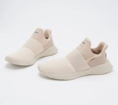 Reebok Running Women's Sneakers - Lite Slip On Stucco/Biege/Balck Size 6 M - $44.54