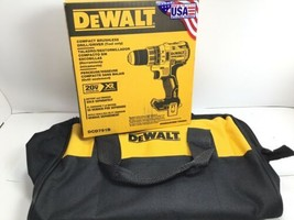 "DeWalt DCD791 20V XR Brushless Cordless 1/2"" Drill 20 Volt 2 Speed with FREE BAG - $111.23"