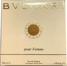 Bvlgari Pour Femme Classic 3.4 oz 100ml Women's Eau de Parfum Spray - $249.99