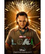 "Loki Poster Marvel Comics Tom Hiddleston TV Series Art Print Size 24x36""... - $10.90+"