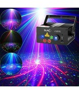 Laser Lights Music Show DJ 128 Combinations Christmas Laser Projector In... - $120.77