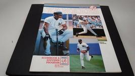 1993 New York Yankees Scorebook & Souvenir Program - $11.33
