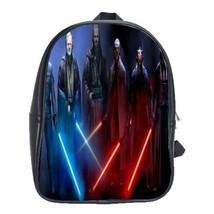 Backpack School Bag Star Wars American Galaxy Movie Space Anime Fantasy Heroes D - $33.00