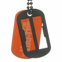 Call of Duty War Game Black Ops II Knock Out Logo Dog Tags, NEW UNUSED - $9.74