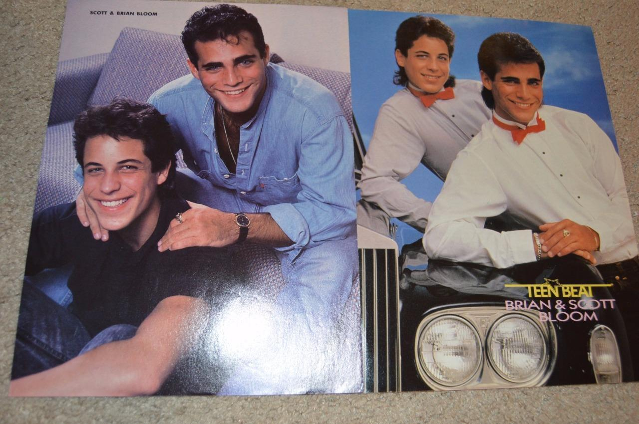 Scott Bloom Brian Bloom teen magazine pinups clipping Tiger Beat Bop lot