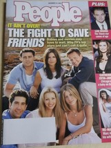 December 2002 People Magazine Friends on cover + Catherine Zeta-Jones - $3.99
