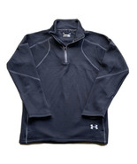 Under Armour UA Fuego Men's Pullover 1/4 Zip Jacket Size Small Black 122... - $24.74