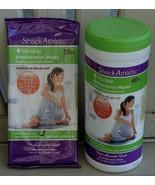 Shock Athletic  Microban Antibacterial Wipes - 40 or 25 count - BRAND NE... - $3.95+
