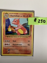First Edition Charmeleon Pokémon Card - $250.00