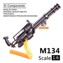 "1/6 Scale M134 Minigun Gatling Machine Gun US Army TERMINATOR Fit For 12"" - $13.47"
