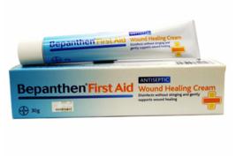 2 X Bayer Bepanthen First Aid Antiseptic Wound Healing Cream 30g Free Sh... - $27.60