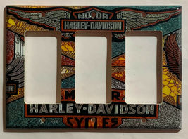 Harley-Davidson MotorCycles Light Switch Outlet Wall Cover Plate Home decor image 10
