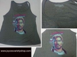 Starlord Tank Top Muscle Shirt Guardians of the Galaxy Sz L NEW Free Shi... - $8.99