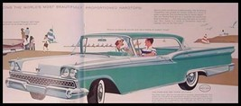 1959 Ford Prestige Color Brochure Fairlane 500 Custom Thunderbird T-Bird... - $26.79
