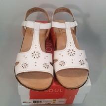 Soul Naturalizer Brig White Leather Sandals - $29.99