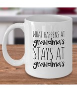 What Happens At Grandma's Stays At Grandma's - Funny Grandmother Gift Co... - $14.80+