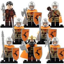 8pcs/set House Baratheon Game of Thrones King Robert Gendry Soldiers Minifigures - $14.98