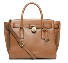 NWT Michael Kors Handbag Hamilton Traveler Large Leather Satchel, Should... - $319.99