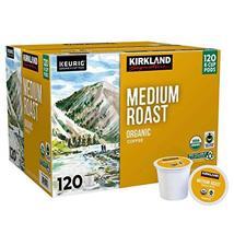 Kirkland Signature Medium Blend, Organic Medium Roast, Recyclable K Cup Pods, 12 - $62.36