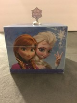 Mr. Christmas Frozen Keepsake Box Elsa and Anna with Mirror plays Let It Go - $12.59